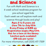 Fun with Math and Science (Jun-July) 2019
