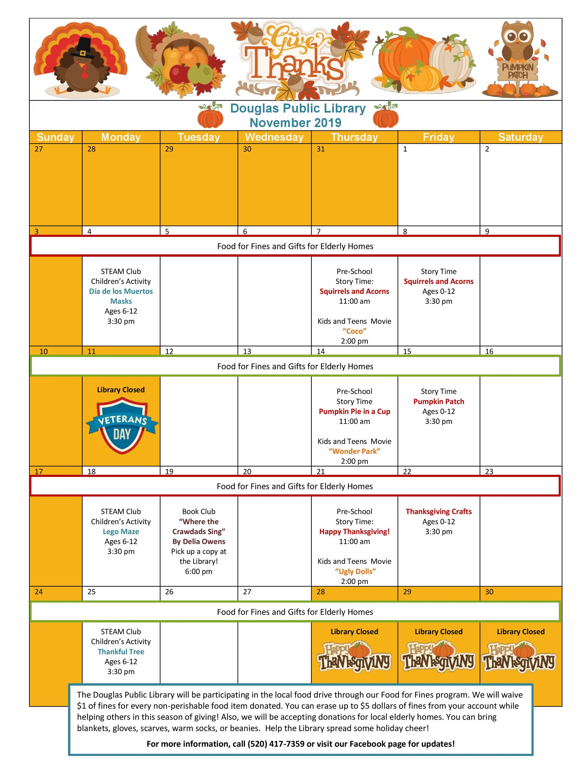 November 2019 Calendar of Events-page-001